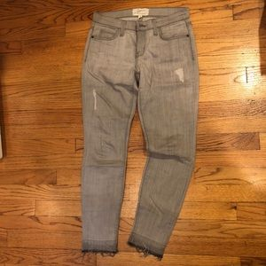 Current/Elliott Jeans - Grey Current/Elliot Skinny Stiletto Jeans 25